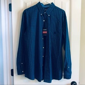 Chaps Easy Care Dress Button Down Shirt